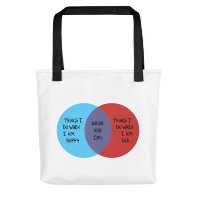 Drink and Cry Tote
