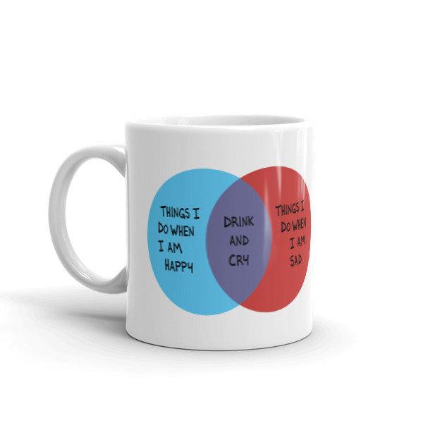 Drink and Cry Mug
