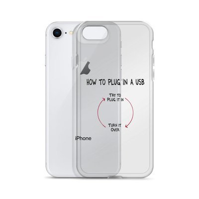 USB Cycle iPhone Case