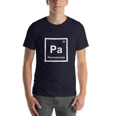 Pennsylvania Element Unisex T-Shirt