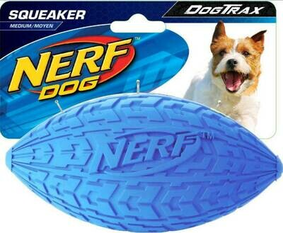Nerf Dog medium tire squeak football
