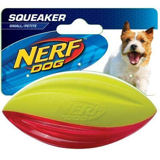 Nerf Dog Hydro Sport TPR Foam Squeak Football