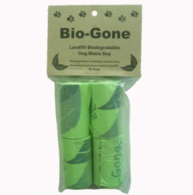 Biodegradable Clean Up Bags.