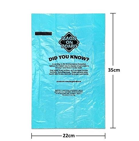 Bag's On Board Dog Poo Bags.