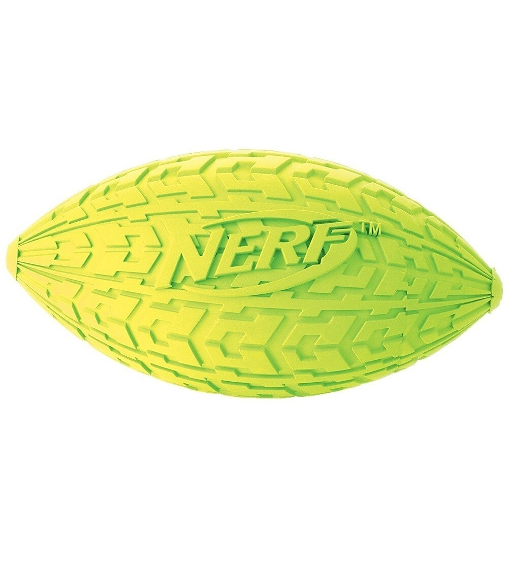 Nerf Dog Small Tire Squeak Green