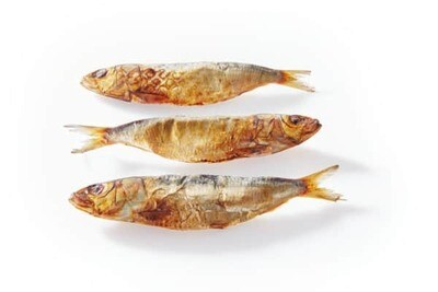 Australian whole dried sardines