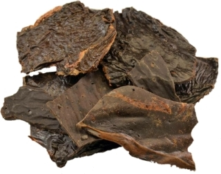 Natural flat beef liver.