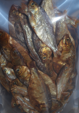 Dried Fish Dog Treats