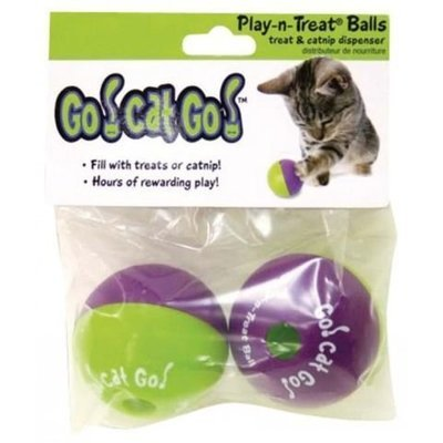 Cat Play Treat Balls