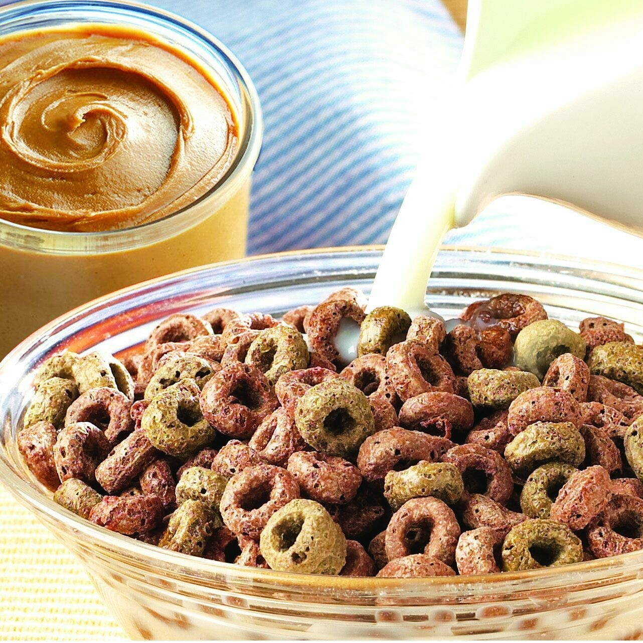 Chocolate Peanut Butter Cereal - High Protein