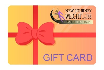 New Journey Weight Loss Gift card