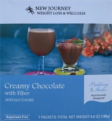 Creamy Chocolate with Fiber - Pudding & Shake