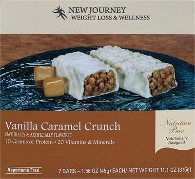 Vanilla Caramel Crunch Bar - High Protein