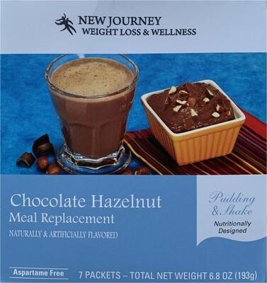 Chocolate Hazelnut Pudding & Shake
