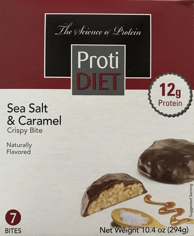 Sea Salt & Caramel Crispy Bites - Proti Diet