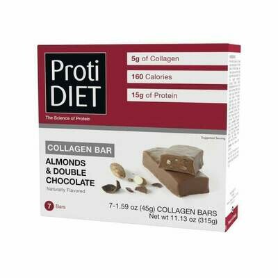 Almonds & Double Chocolate Collagen Bar - Proti Diet