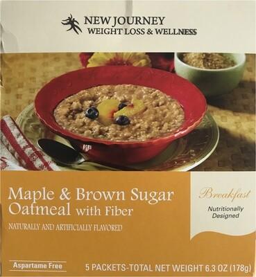 Oatmeal - Maple and Brown Sugar w/ Fiber