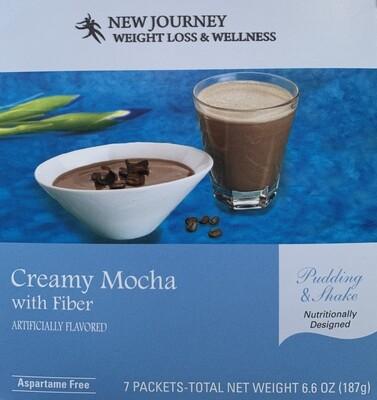 Creamy Mocha w/ Fiber Pudding & Shake