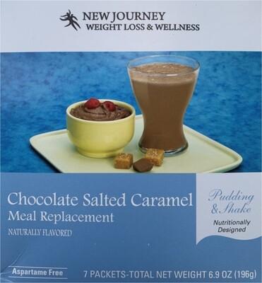 Chocolate Salted Caramel Pudding & Shake
