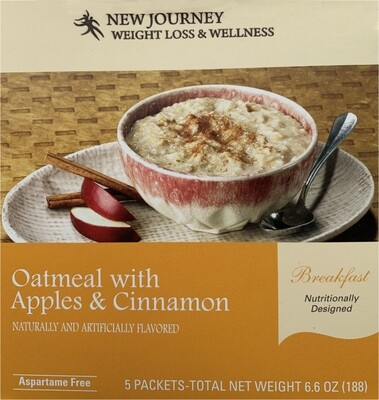 Oatmeal with Apples & Cinnamon