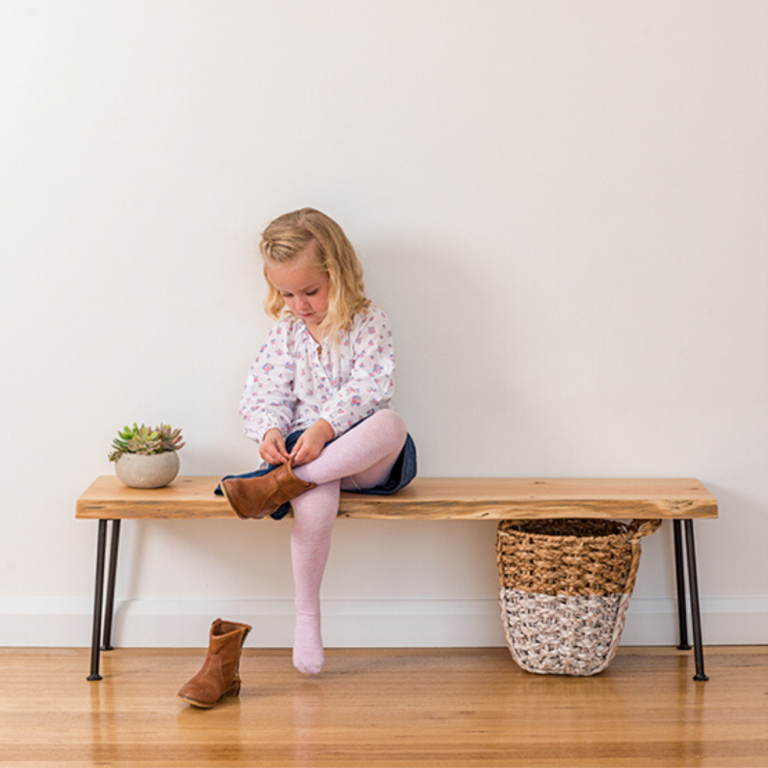 Lottie Hall Bench / Seat | Natural Edge
