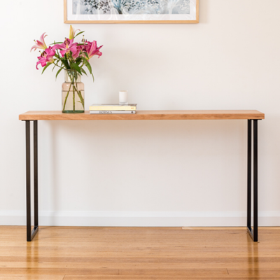 Belle Console | Tasmanian Oak | Black Base