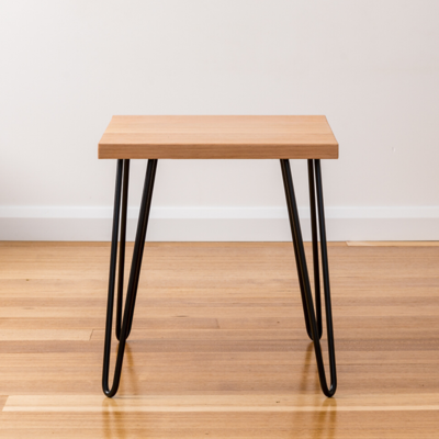 Molly Side Table - Black Legs