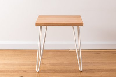 Molly Side Table - White Legs