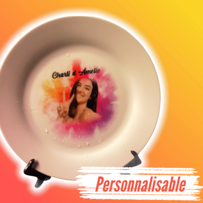 Sublimation Assiette