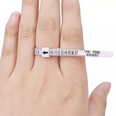 Ring size meter