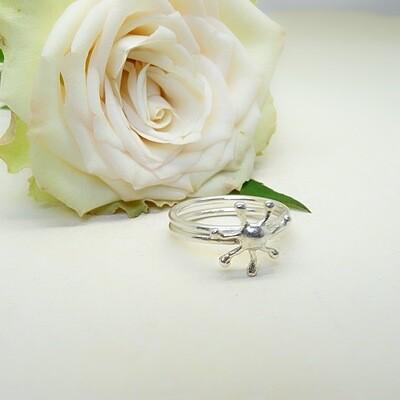 Silver ring - Sun
