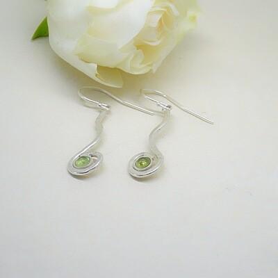 Silver earrings - Freshwater pearl
