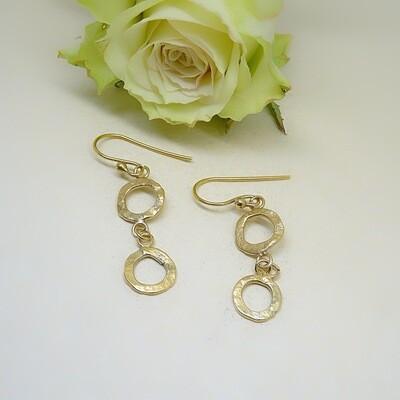Silver earrings - Circles