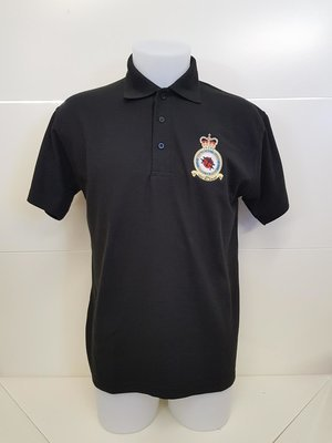 Battle of Britain Memorial Flight badge polo shirt