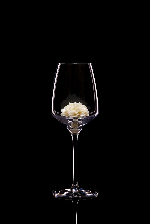 Бокал для белого вина – Гвоздика белая.