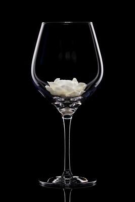 Бокал для красного вина Пион белый