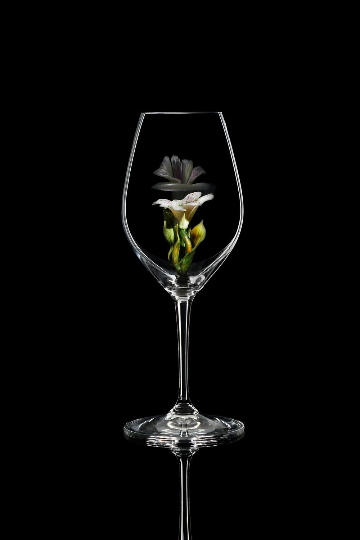 Бокал для шампанского Альстромерия, стекло Ридель.