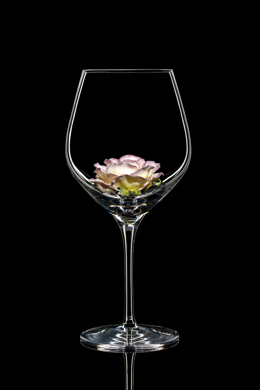 Бокал для красного вина - Роза.