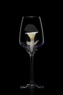 Бокал для белого вина Вьюнок. Белый.