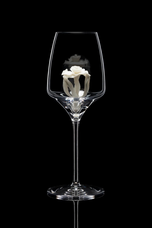 Бокал для белого вина Нарцисс белый.