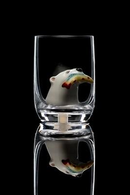 Стопка для водки Белый медведь.