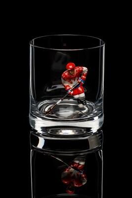 Бокал для виски. Сборная России белая форма.