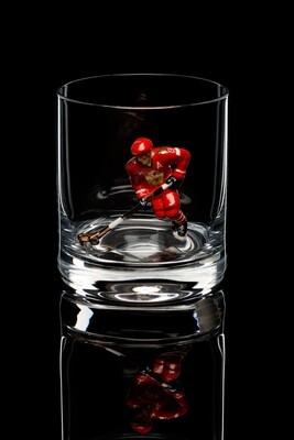 Бокал для виски. Сборная России, красная форма.