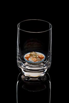 Стопка под водку - «Солёные грибы»