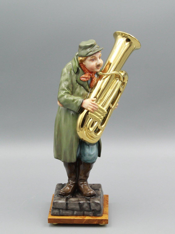 """Статуэтка """"Уличный музыкант"""""""