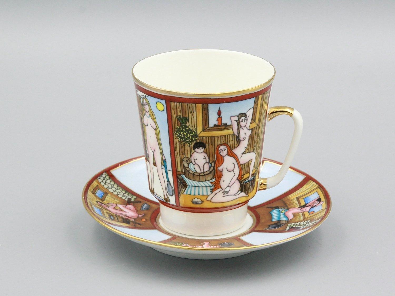 """Кофейная пара """"Банька"""""""