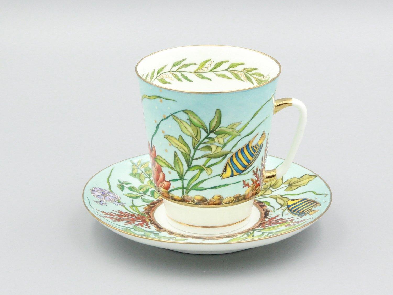 """Кофейная пара """"Морской аквариум"""""""