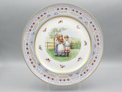 Тарелка по мотивам рисунка Елизаветы Бём