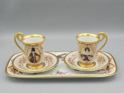 Чайные пары с подносом