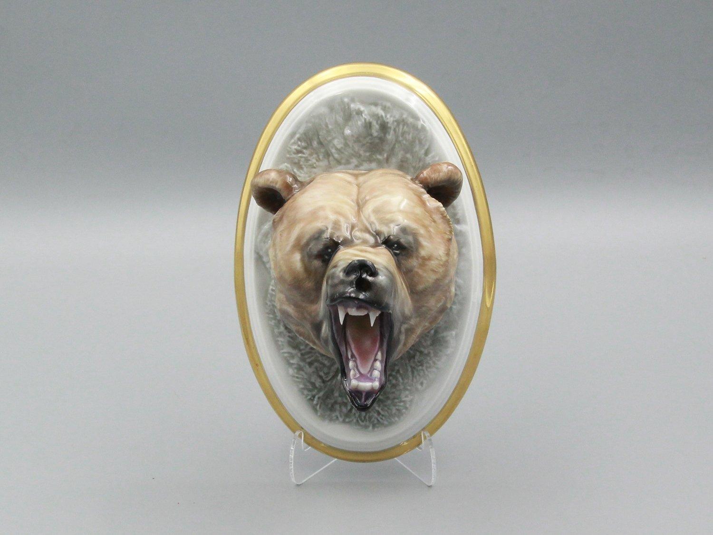 """Фигурка """"Голова медведя"""""""